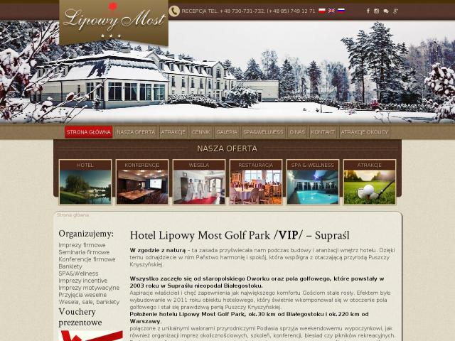 Hotel Lipowy Most Golf Park
